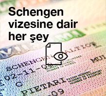 Schengen vizesine dair herşey